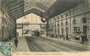"""83 Var CPA FRANCE 83 """"Toulon, L'Arrivée du train Côte d'Azur, la gare"""""""