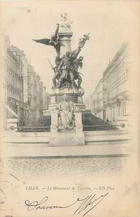 """/ CPA FRANCE 59 """"Lille, le monument de testelin"""""""