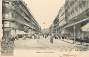 """59 Nord / CPA FRANCE 59 """"Lille, rue Faidherbe"""""""