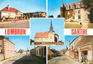 """/ CPSM FRANCE 72 """"Lombron"""""""