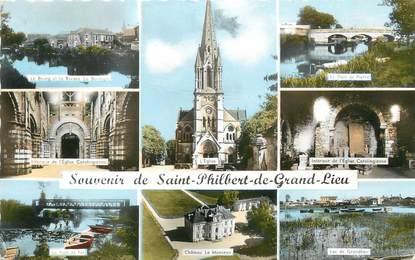 """/ CPSM FRANCE 44 """"Saint Philbert de Grand Lieu"""""""