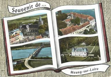 """/ CPSM FRANCE 45 """"Meung sur Loire"""""""