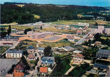 """/ CPSM FRANCE 76 """"Cany Barville, vue aérienne"""""""