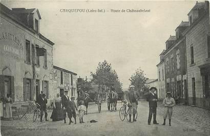 "CPA FRANCE 44 ""Carquefou, rte de Châteaubriant"""
