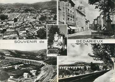 """/ CPSM FRANCE 34  """"Souvenir de Bédarieux"""""""