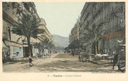 "CPA FRANCE 83 ""Toulon, avenue Colbert"""