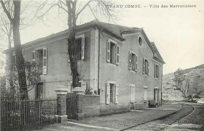 """CPA FRANCE 30 """"Grand'Combe, villa des Marronniers"""""""