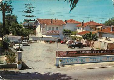 "/ CPSM FRANCE 06 ""Saint Laurent du Var"" /  CAMPING"