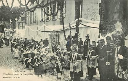 """CPA FRANCE 44 """"Guérande, Fête Dieu 1908"""""""