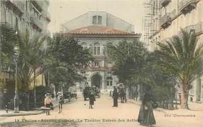 """CPA FRANCE 83 """"Toulon, avenue Colbert, le Théâtre"""""""