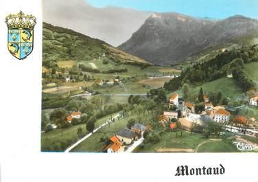 """/ CPSM FRANCE 38 """"Montaud, vue générale aérienne"""""""