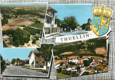 """/ CPSM FRANCE 38 """"Thuellin"""""""