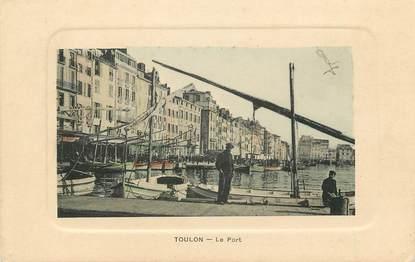 """CPA FRANCE 83 """"Toulon, Le Port"""""""