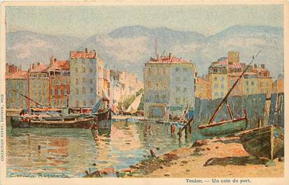 "CPA FRANCE 83 ""Toulon, le port"""