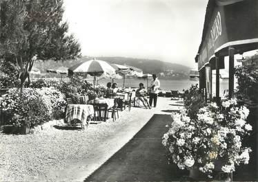 """/ CPSM FRANCE 06 """"Cannes, ile Sainte Marguerite bar restaurant à la Guérite"""""""