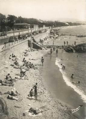 """/ CPSM FRANCE 06 """"Cannes La Bocca, la plage"""""""