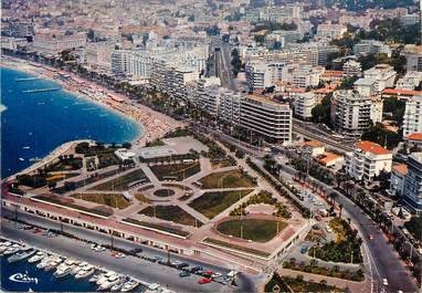 """/ CPSM FRANCE 06 """"Cannes, vue générale aérienne"""""""