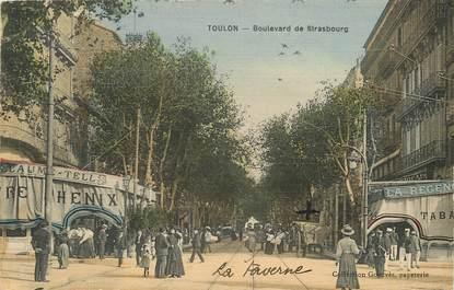 """CPA FRANCE 83 """"Toulon, Bld de Strasbourg"""""""