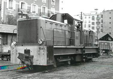 "/ CPSM FRANCE 06 ""Nice, locomotive BB401"" / TRAIN"