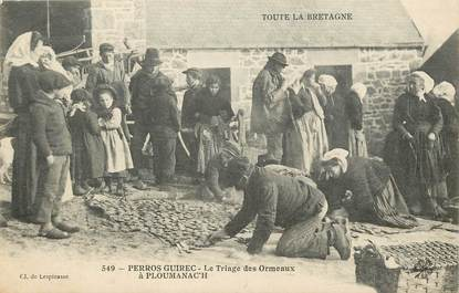 """CPA FRANCE  22 """"Perros Guirec, le triage des Ormeaux"""""""