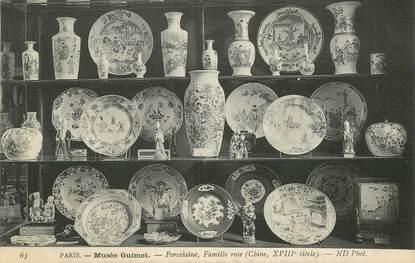 """CPA CHINE """"Musée Guimet, Porcelaine""""ARCHEOLOGIE"""