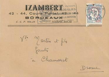 """CPA CARTE PUBLICITAIRE FRANCE 33 """"Bordeaux, Izambert"""
