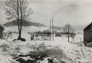 """/ CPSM FRANCE 38 """"Autrans, vue générale en hiver, route du Bourg"""""""