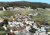 """39 Jura / CPSM FRANCE 39 """"Bois d'Amont, le village et la chaine du Risoux"""""""