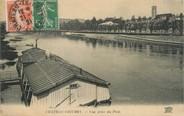 """02 Aisne / CPA FRANCE 02 """"Château Thierry, vue prise du pont"""""""