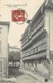 """01 Ain / CPA FRANCE 01 """"Bourg, vieille Maison de bois, rue du Palais"""""""
