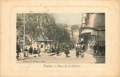 """CPA FRANCE 83 """"Toulon, Place de la Liberté"""""""