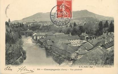 """/ CPA FRANCE 39 """"Champagnole, vue générale"""""""