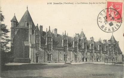 "/ CPA FRANCE 56 ""Josselin, le château"""