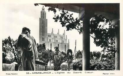 """CPSM MAROC """"Casablanca, L'Eglise du sacré coeur"""""""