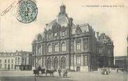 """59 Nord / CPA FRANCE 59 """"Tourcoing, l'hôtel de ville"""""""