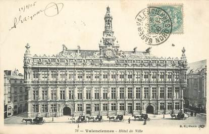 """/ CPA FRANCE 59 """"Valenciennes, hôtel de ville"""""""