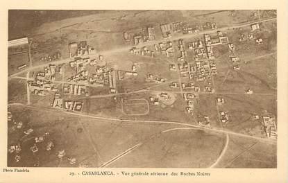 """CPA MAROC """"Casablanca, vue générale aérienne"""""""