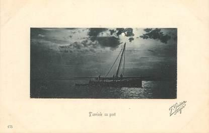 "CPA ALGERIE ""Alger, Arrivée au port"" / Ed. GEISER"