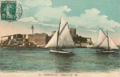 "/ CPA FRANCE 13 ""Marseille, château d'If"""