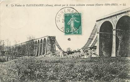 """/ CPA FRANCE 68 """"Le Viaduc de Dannemarie détruit par le Génie militaire Français"""""""