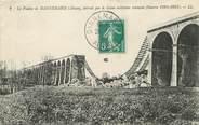 """68 Haut Rhin / CPA FRANCE 68 """"Le Viaduc de Dannemarie détruit par le Génie militaire Français"""""""