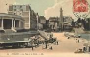 """35 Ille Et Vilaine / CPA FRANCE 35 """"Dinard, la plage et les hôtels"""""""