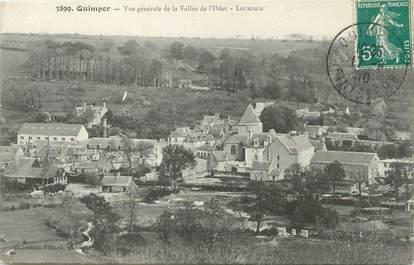 """/ CPA FRANCE 29 """"Quimper, vue générale de la vallée de l'Odet"""""""