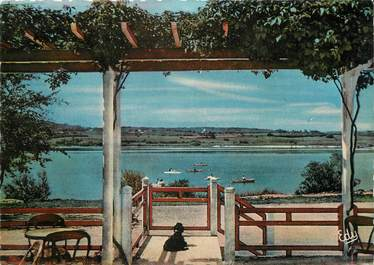 "/ CPSM FRANCE 39 ""Le lac Chalain Marigny"""