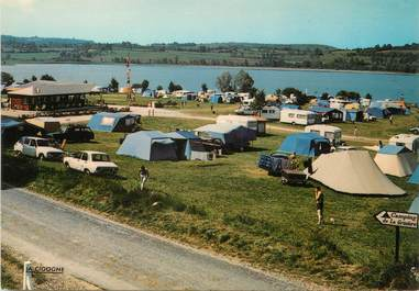 "/ CPSM FRANCE 39 ""Clairvaux Les lacs"" / CAMPING"