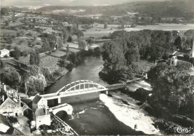 """/ CPSM FRANCE 39 """"Port Lesney, le pont sur La Loue"""""""