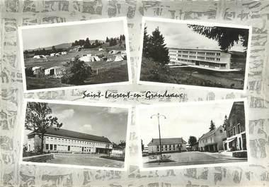 """/ CPSM FRANCE 39 """"Saint Laurent en Grandvaux"""""""