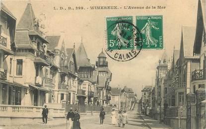 """/ CPA FRANCE 62 """"Wimereux, l'avenue de la Mer"""""""