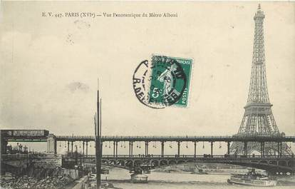 "/ CPA FRANCE 75016 ""Paris, Tour Eiffel"""