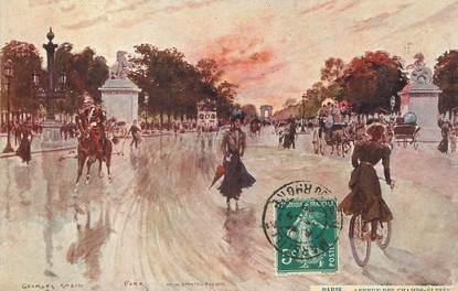 """/ CPA FRANCE 75008 """"Paris, avenue des Champs Elysées"""""""